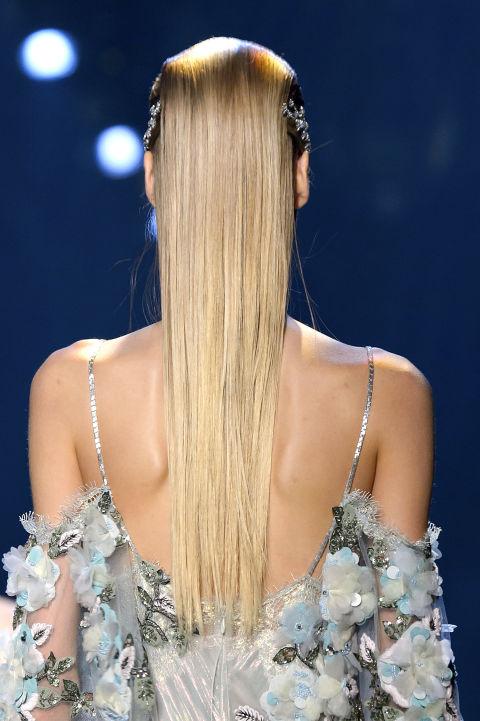formas de llevar cabello lacio wet accesorios