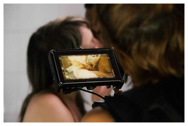 fotografias desde el set de una pelicula porno sensual