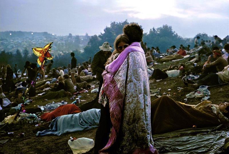 Resultado de imagen de pareja de hippies