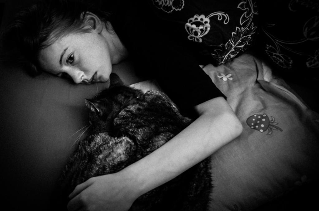 fotografias para entender la adolescencia gato