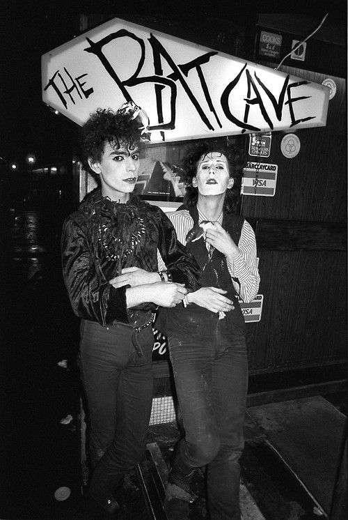 fotografias the batcave club musicos
