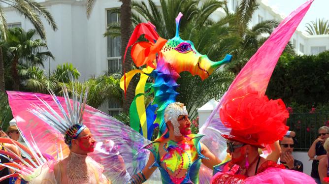 contagio de vih durante marcha gay
