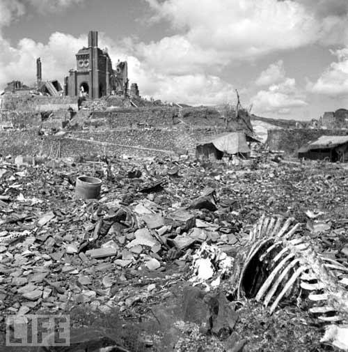 hiroshima despues de la bomba atomica muerte