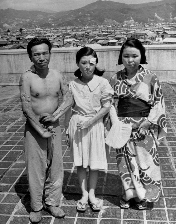 hiroshima despues de la bomba atomica victimas afectadas