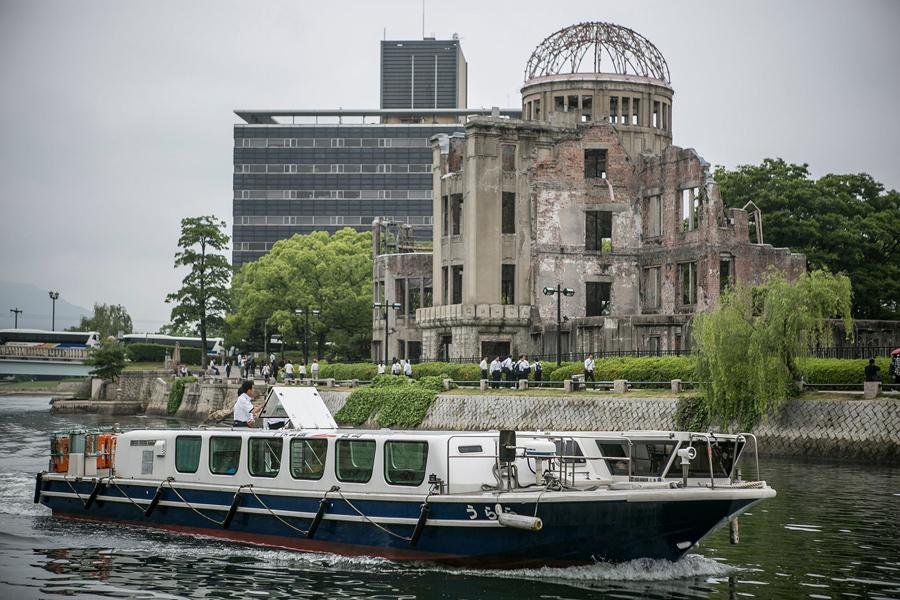 hiroshima despues de la bomba atomica