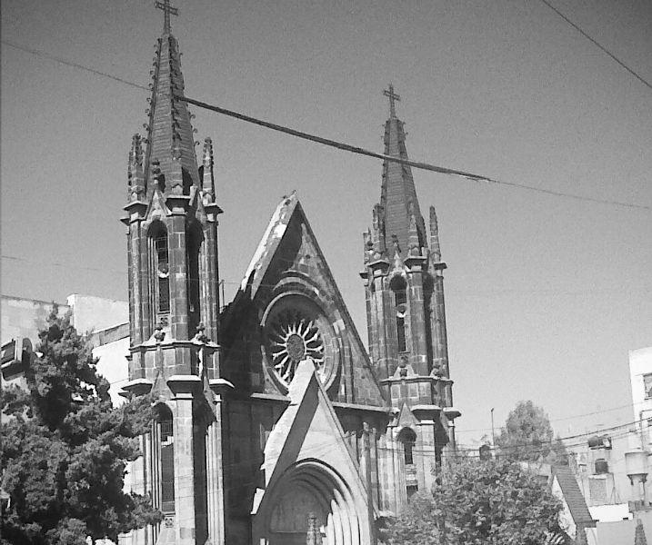 iglesia colonia guerrero