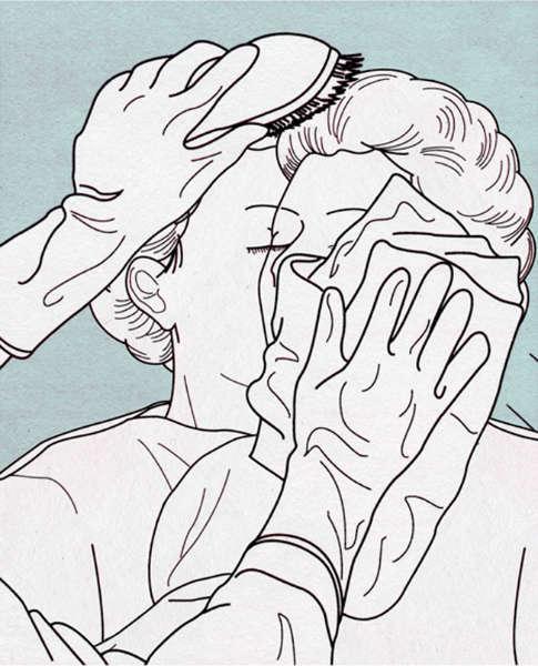 ilustraciones decadencia de la sociedad peinado-h600