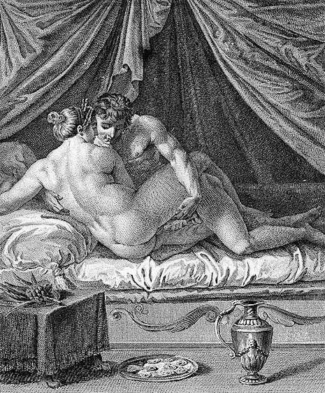 kamasutra de Giulio Romano cleopatra