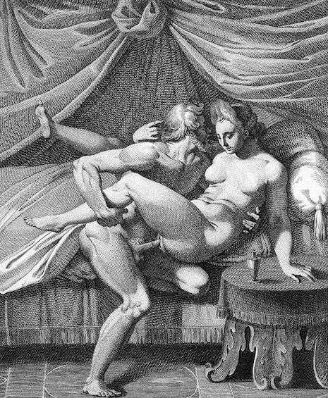 kamasutra de Giulio Romano jupiter