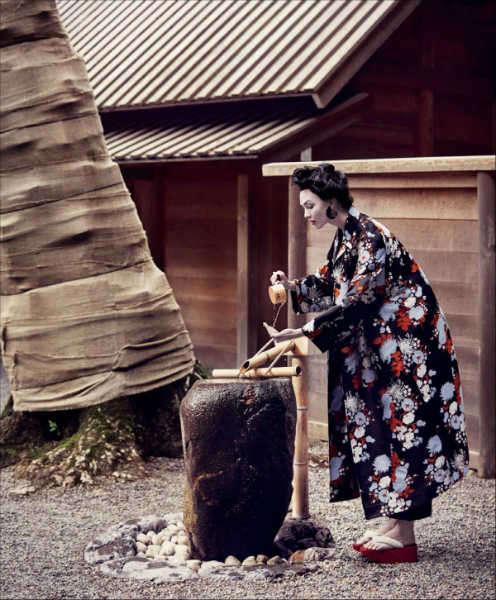 geisha de vogue