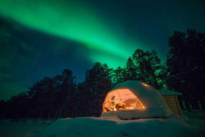 lugares mas surrealistas del mundo auroras boreales