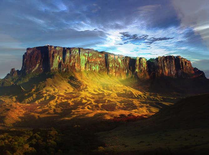 lugares mas surrealistas del mundo monte roraima