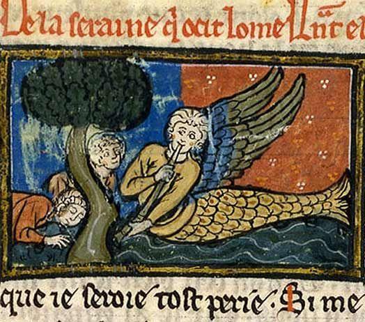 mermaid mythology bestiary 1