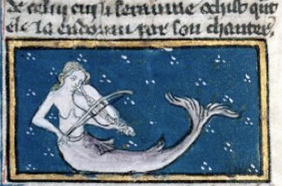 mermaid mythology without wings