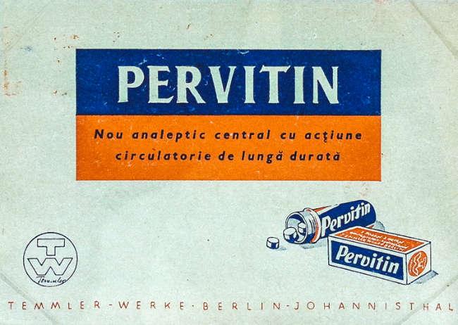 metanfetaminas nazis pastilla