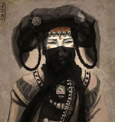 mongolian princess khutulun drawing-w696-h687