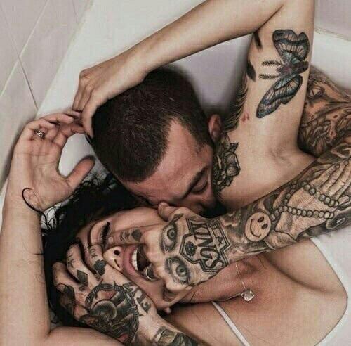 numero de parejas sexuales que debes tener mujer y hombre tatuados