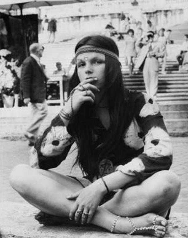 outfits chica retro chicas hippir