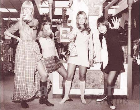 outfits chica retro chicas