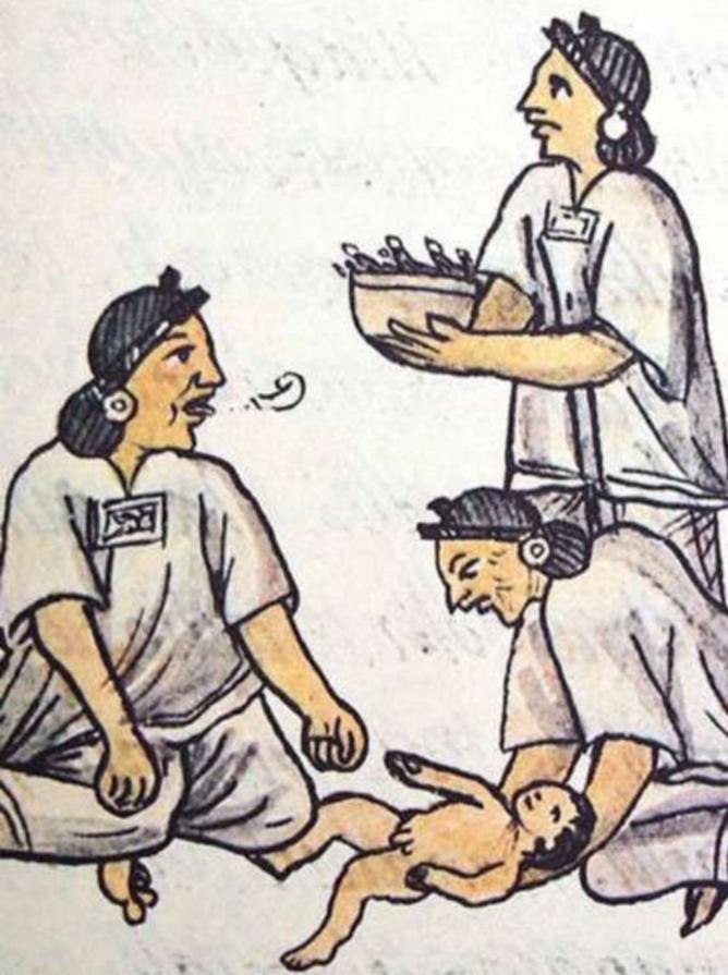 parto embarazo mexica