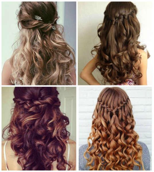 5 peinados que s lo las mujeres sofisticadas y de cabello - Peinados de fiesta con rizos ...