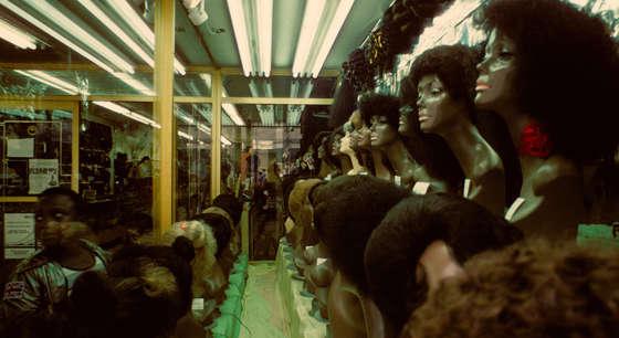 peonado fotografias de nueva york en los 80