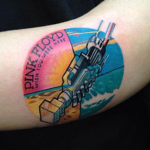 pink floyd tattoos 10 colors
