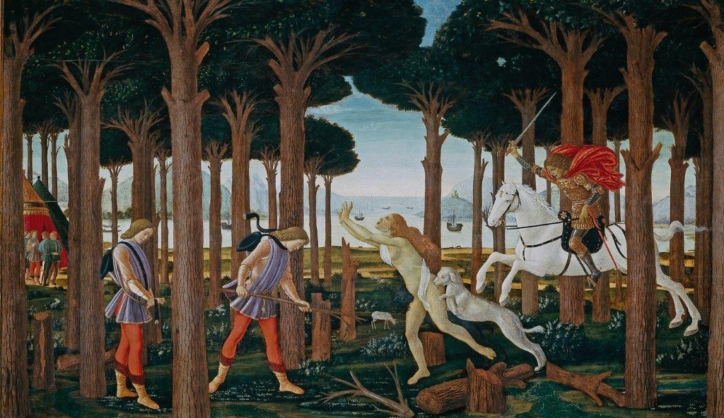 pinturas de Sandro Botticelli