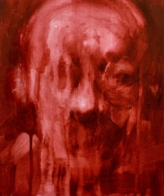 pinturas deprimentes rojo