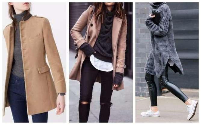 prendas de moda para mujeres bajitas abrigos medios