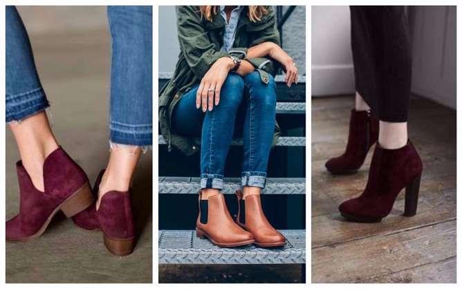 prendas de moda para mujeres bajitas botines