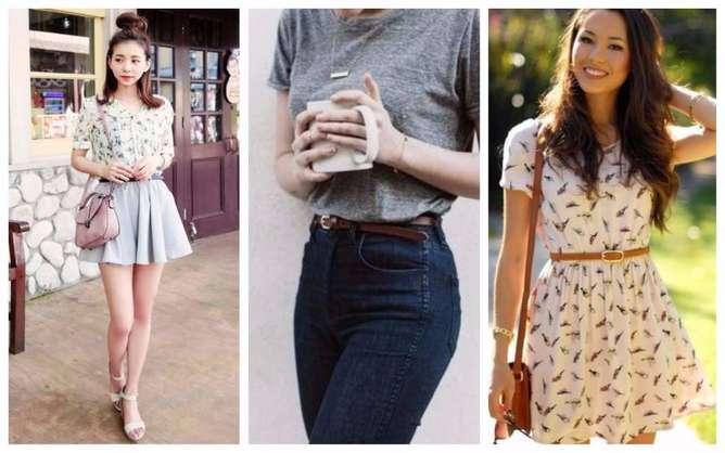 prendas de moda para mujeres bajitas cinturon (1)
