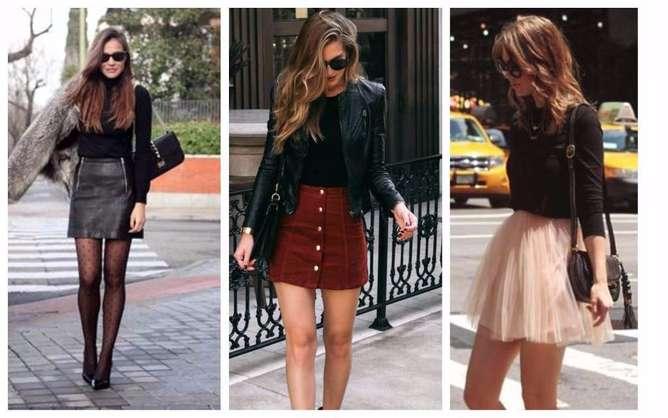 prendas de moda para mujeres bajitas falda