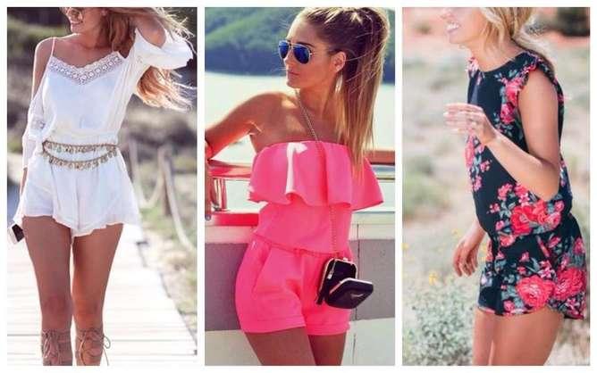 prendas de moda para mujeres bajitas jumpsuit