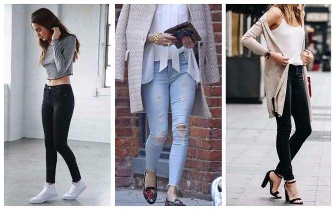 prendas de moda para mujeres bajitas skinny