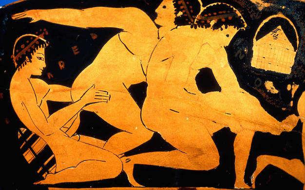 prostitucion masculina en LA ANTIGUA roma