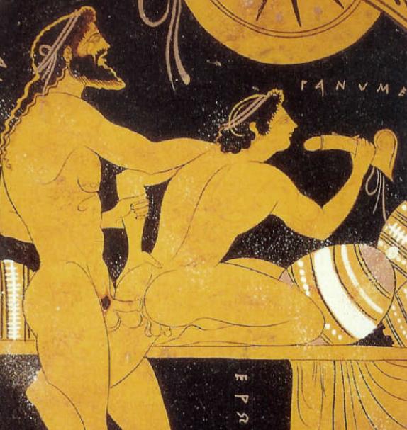 prostitucion  masculina en la roma