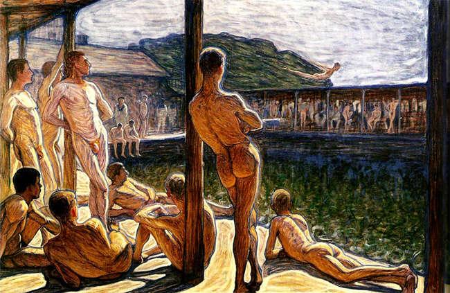prostitucion masculina en roma HOMBRES