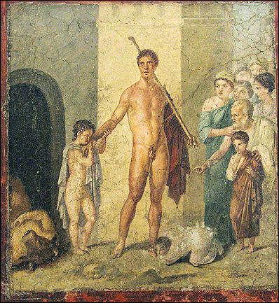 prostitucion masculina en  roma