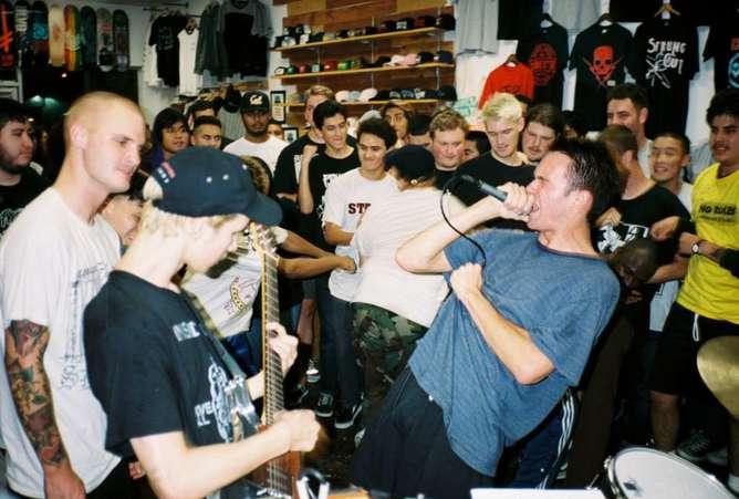 punk fotografias excesos juveniles