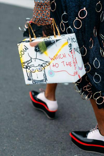 reglas de la moda excentrica