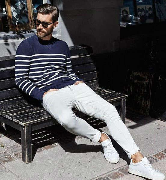 reglas de moda para hombres blanco