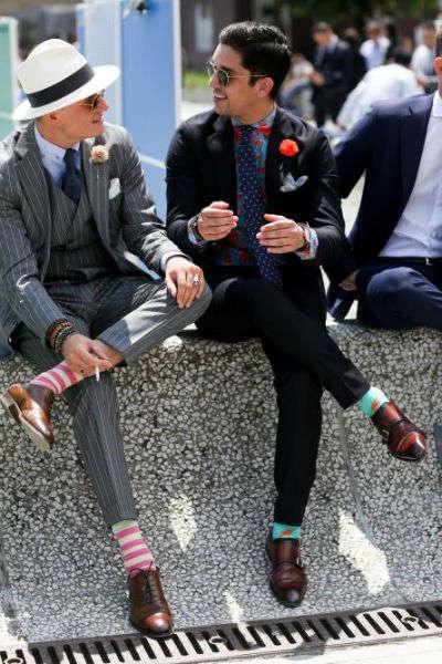 reglas de moda para hombres calcetines