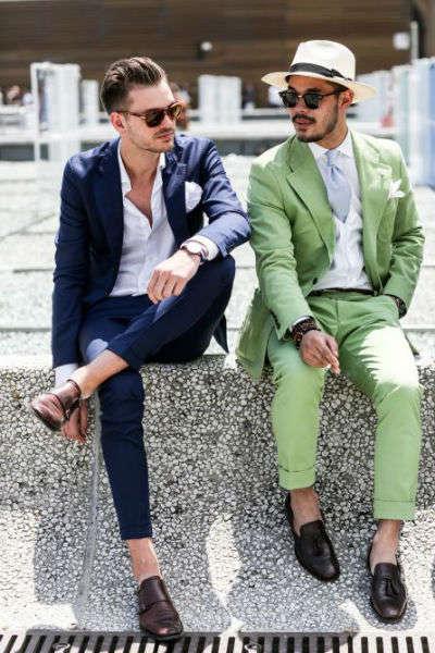 reglas de moda para hombres no socks