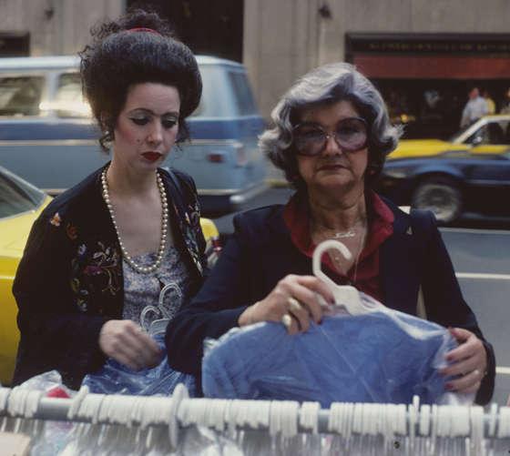ropa fotografias de nueva york en los 80