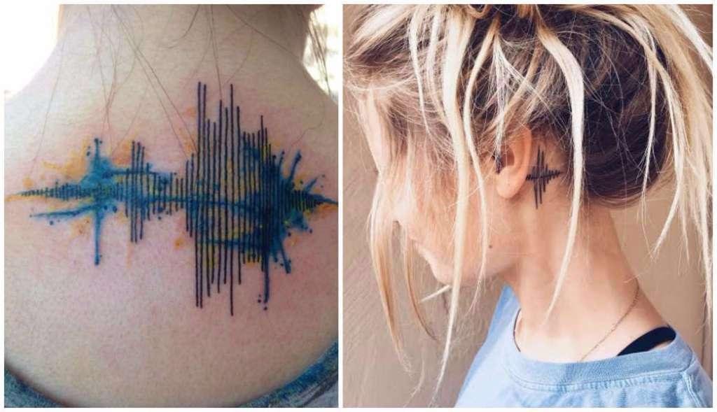 soundwave tattoo trend ear
