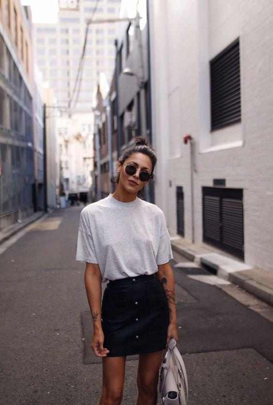 street style t shirt