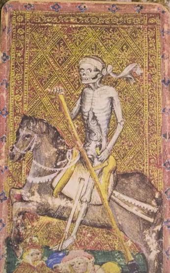 tarot tattoos death riding a horse