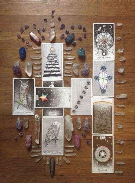 tarot tattoos stones