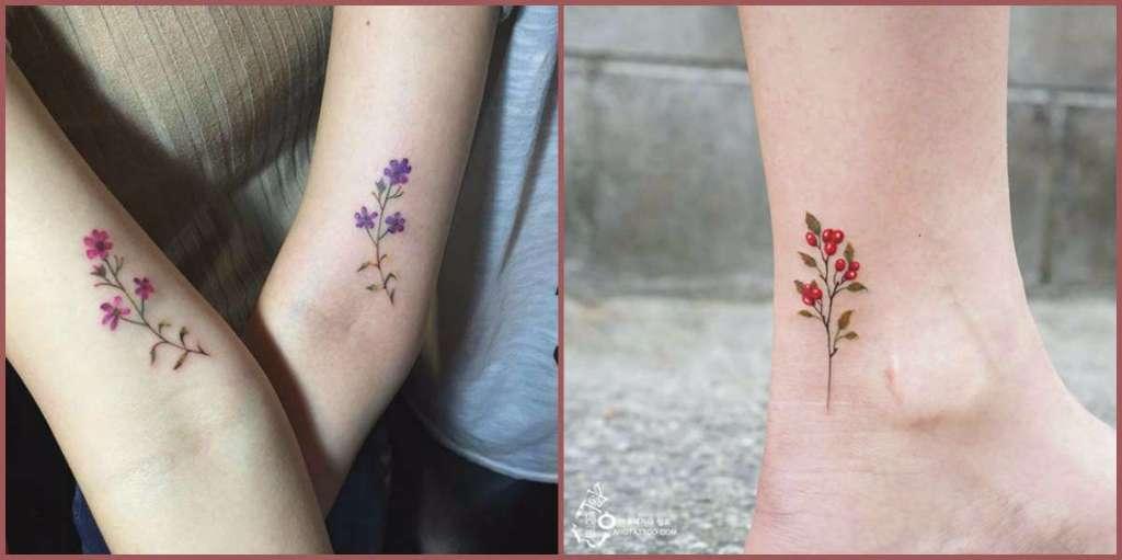 19 Tatuajes De Flores Silvestres Y Su Hermoso Significado Diseno